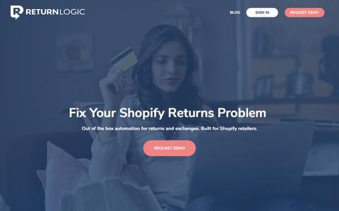 Data Driven Shopify Returns Management