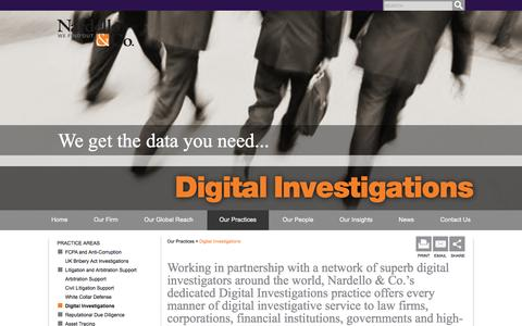 Cyber Investigation Services | Digital Forensics