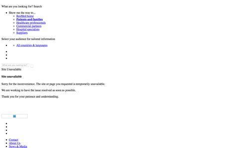 Site Unavailable