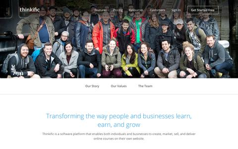 Thinkific makes it easy for independent experts & entrepreneurs to teach online