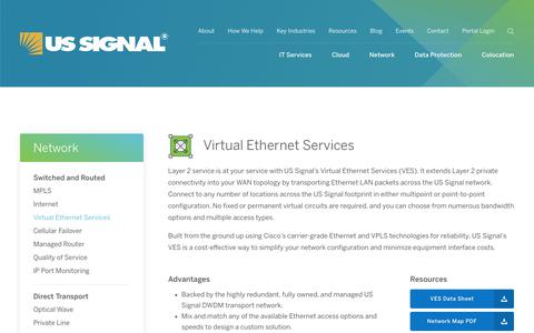 Virtual Ethernet Services | US Signal