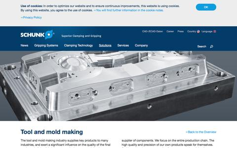 Tool and mold making