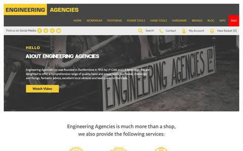 Screenshot of About Page engineeringagencies.co.uk - About Us - captured Sept. 28, 2018
