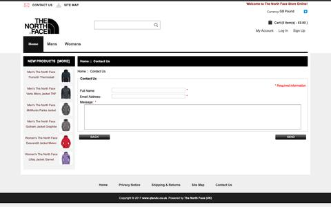 Screenshot of Contact Page qtandc.co.uk - Contact Us : www.touring-skegness.co.uk, The North Face | Shop For Men's And Women's Outdoor Apparel And Outdoor Shoes, Bags Online UK. - captured Nov. 9, 2018