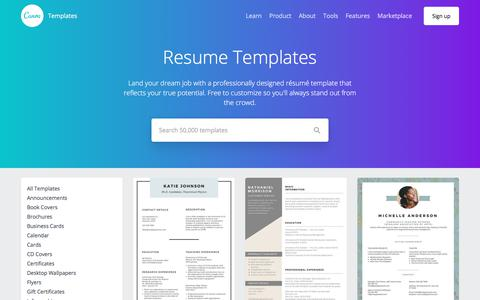 Resume Templates - Canva