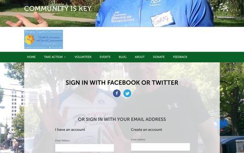 Screenshot of Login Page nationbuilder.com - Sign in - captured May 25, 2016