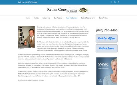 D. Virgil Alfaro, III, M.D. | Retina Consultants of Charleston