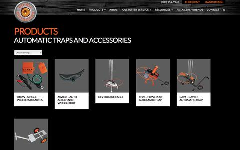 Product Categories  Automatic Traps and Accessories | Do All Outdoors