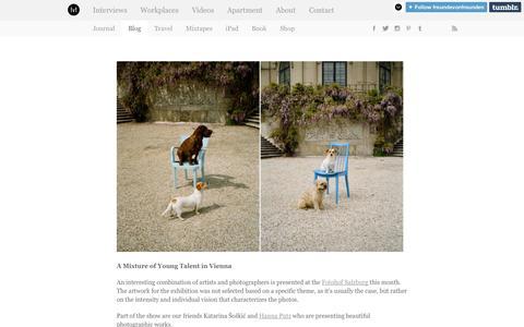 Screenshot of Blog freundevonfreunden.com - Freunde von Freunden - captured Sept. 22, 2014