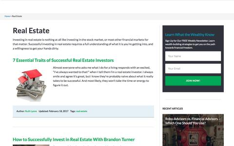 Real Estate - Investor Junkie