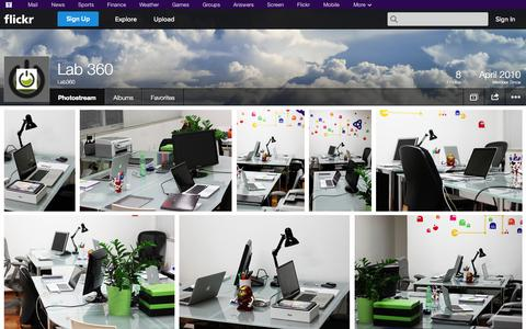 Screenshot of Flickr Page flickr.com - Flickr: Lab360's Photostream - captured Oct. 22, 2014