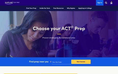 ACT Prep | ACT Test Prep | Kaplan Test Prep