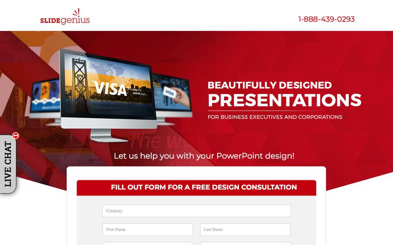 PowerPoint Design Consultants | Speak With One Today | SlideGenius Presentation Consulting Experts
