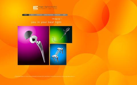 Screenshot of Home Page e-imagestudios.com - index - captured Sept. 29, 2016