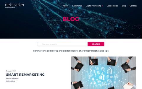 Screenshot of Blog netstarter.com.au - Blog - captured Oct. 17, 2019