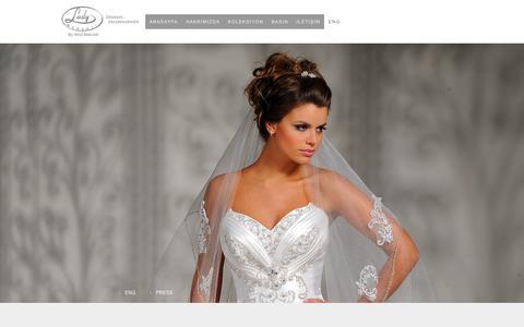 Screenshot of Press Page ladymodaevi.com - press - Gelinlik Modelleri - Kadıköy - captured July 13, 2018