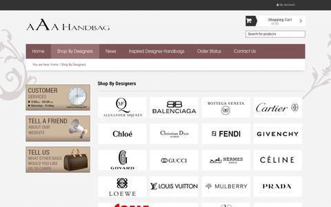 Screenshot of About Page aaahandbag.nu - Replica Handbags - Perfect Replica Designer Handbags - Highest Quality Designer Handbag Replicas - captured Oct. 13, 2019
