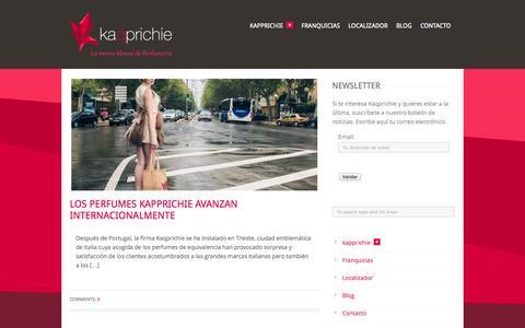 Screenshot of Blog kaqprichie.com - kaqprichie   –  Blog - captured Oct. 31, 2014