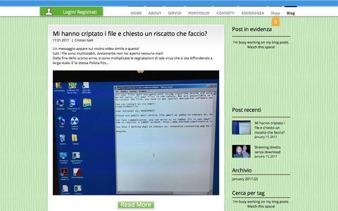 Screenshot of Blog masanet.it - Masanet - Assistenza Informatica  | Blog - captured July 5, 2017