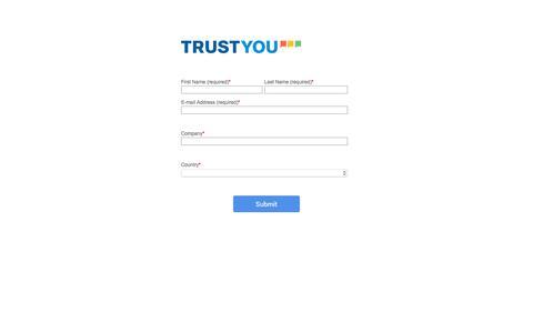 Screenshot of Landing Page trustyou.com - Petit Palace Case Study Form - captured June 21, 2018
