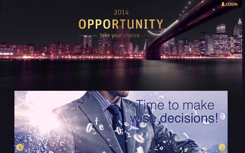 Screenshot of Signup Page bonofa.com - Opportunity 2014 - Registry - captured Nov. 4, 2014