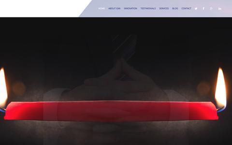 Screenshot of Home Page greymattersintl.com - Grey Matters | Executive Wellness | Addiction Therapy - captured Feb. 2, 2016