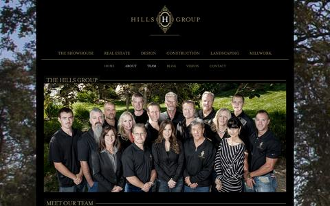 Screenshot of Team Page thehillsgroup.ca - Team - The Hills Group - captured Oct. 7, 2014