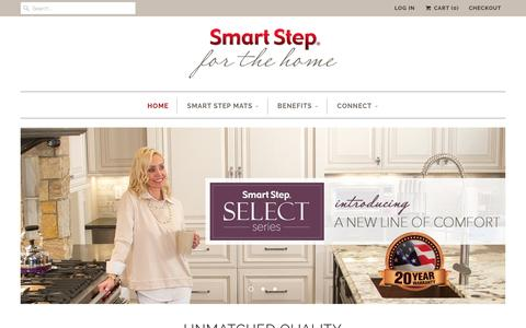 Screenshot of Home Page smartstephome.com - SmartStepHome - captured Feb. 27, 2017