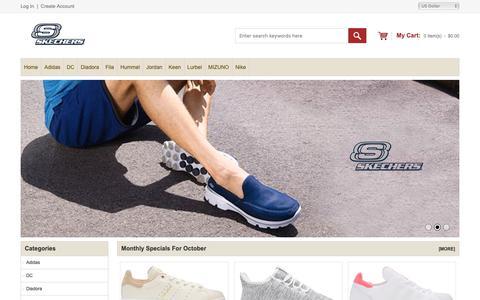 Screenshot of Home Page jamoneriasgourmet.com - Puma Ferrari Shoes Store USA - Fast & Free Shipping Worldwide Online - captured Oct. 13, 2018