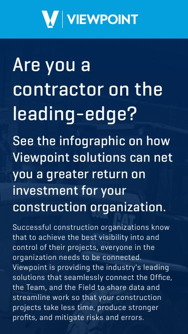Are you a contractor on the leading-edge?