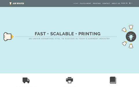 Web design timeline a page on crayon for T shirt printing and fulfillment