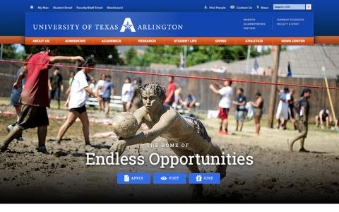 The University of Texas at Arlington – UT Arlington – UTA