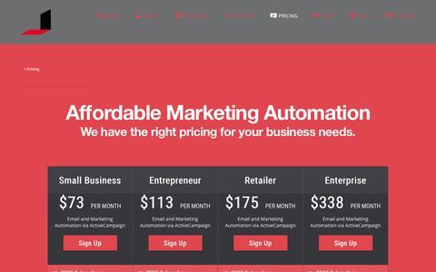 Screenshot of Pricing Page juanrojodesign.com - Pricing - - captured Aug. 7, 2016