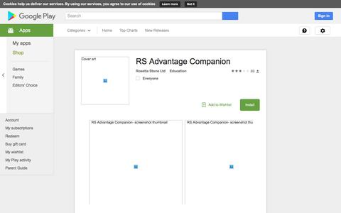 RS Advantage Companion - Android Apps on Google Play