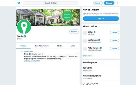 Tweets by Trulia (@trulia) – Twitter