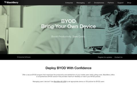 BYOD – Bring Your Own Device - United States