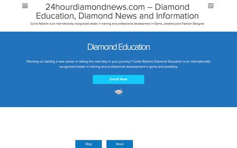 Gem Education |Diamond Gemmology School | 24hourdiamondnews.com – Diamond Education, Diamond News and Information