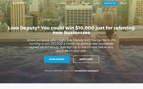Win $10,000 by telling your friends & colleagues about Deputy