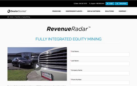 Dealership Equity Mining