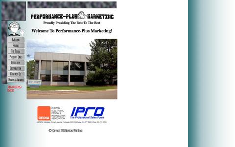 Screenshot of Home Page perfplusmktg.com - Welcome to Performance-Plus Marketing! - captured Oct. 2, 2014