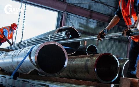 Screenshot of Home Page gamacarbon.com - Gama Carbon - Gama Carbon Steel Limited - captured Jan. 23, 2016