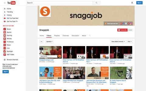 Snagajob  - YouTube