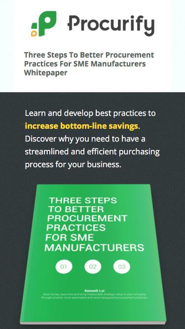 Better Procurement Practices Whitepaper Download