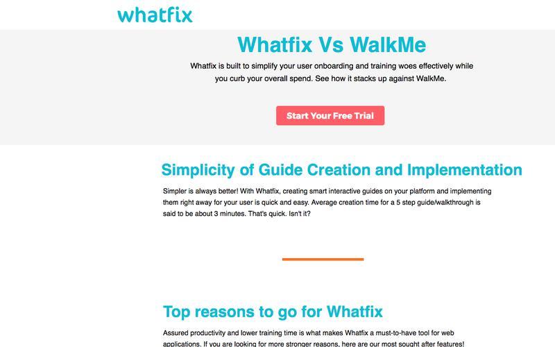 Best Walkme Alternative