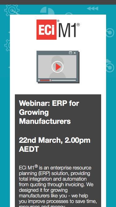 Webinar: ERP for Growing Manufacturers