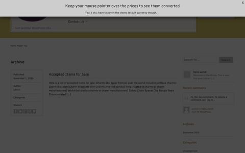 Screenshot of FAQ Page charmprincess.com - Faq | Charmprincess - captured Nov. 1, 2014