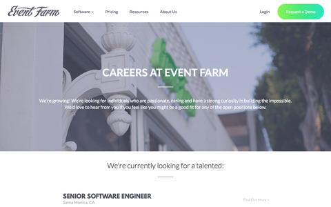 Event Farm - Careers