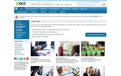 OCC: Careers