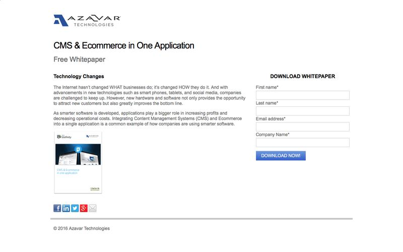 CMS & Ecommerce in One Application