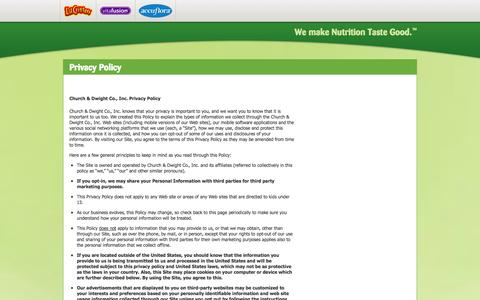 Screenshot of Privacy Page gummyvites.com - Privacy Policy - captured Oct. 30, 2014